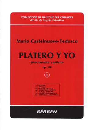Platero Y Yo Op. 190. Volume 1 Mario Castelnuovo-Tedesco laflutedepan