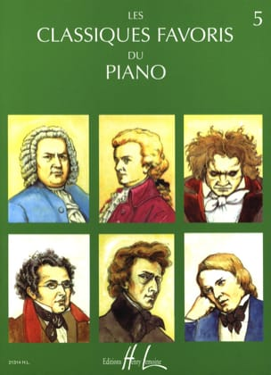 Classic Favorites Volume 5 - Sheet Music - di-arezzo.com