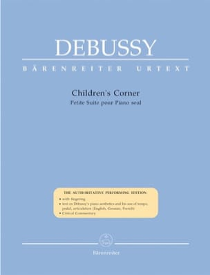 DEBUSSY - Children's Corner - Sheet Music - di-arezzo.co.uk