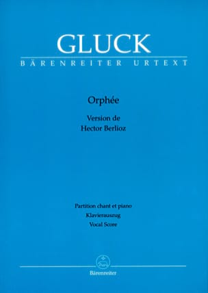 GLUCK - Orpheus - Sheet Music - di-arezzo.co.uk
