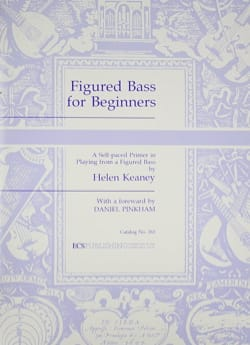 Figured Bass For Beginners Helen Keaney Partition laflutedepan