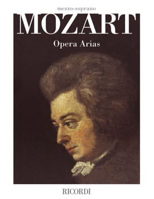 MOZART - Opera Arias. Mezzo SOLD OUT - Sheet Music - di-arezzo.co.uk