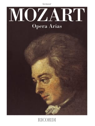 MOZART - Opera Arias. Tenor - Sheet Music - di-arezzo.co.uk