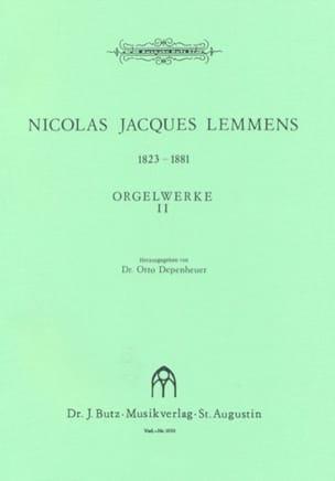 Orgelwerke. Volume 2 Nicolas-Jacques Lemmens Partition laflutedepan