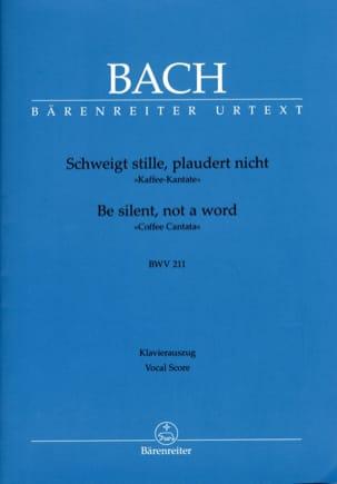 BACH - Cantate 211 Schweigt Stile, Plaudert Nicht - Partition - di-arezzo.fr