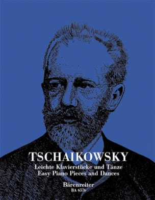 TCHAIKOWSKY - Easy piano pieces and dances - Sheet Music - di-arezzo.co.uk