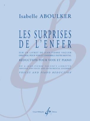Les Surprises de L'enfer - Isabelle Aboulker - laflutedepan.com