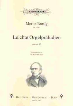 Leichte Orgelpräludien Aus Op. 32 - Moritz Brosig - laflutedepan.com