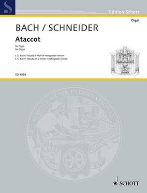 Ataccot - Enjott Schneider - Partition - Orgue - laflutedepan.com
