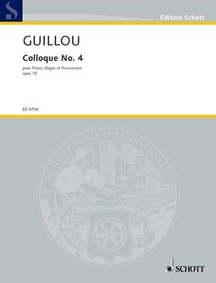 Colloque N° 4 Op. 15 - Jean Guillou - Partition - laflutedepan.com