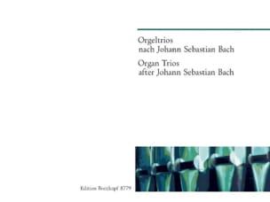 Orgeltrios Nach Bach - Partition - Orgue - laflutedepan.com