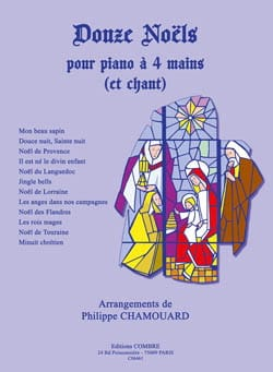 Philippe Chamouard - 12 Christmas. 4 Hands - Sheet Music - di-arezzo.co.uk
