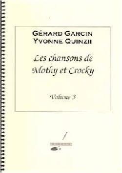 Quinzii Yvonne / Garcin Gérard - The Songs of Mothy and Crocky Volume 3 - Sheet Music - di-arezzo.com