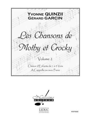 Les Chansons de Mothy et Crocky Volume 2 laflutedepan