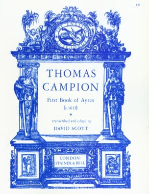 Thomas Campion - First Book Of Ayres - Partition - di-arezzo.fr