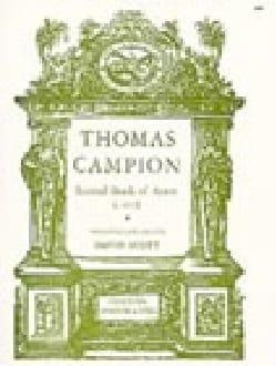Thomas Campion - Second Book Of Ayres - Partition - di-arezzo.fr