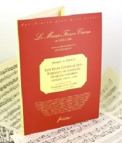 Bénigne de Bacilly - 3 Livres D'airs. 1ère Partie - Partition - di-arezzo.fr