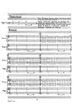 Philipp Glass - アインシュタインオンザビーチ - 楽譜 - di-arezzo.jp