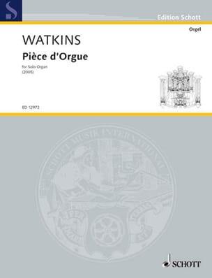 Huw Watkins - Pièce D'orgue - Partition - di-arezzo.fr