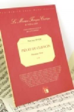 Pancrace Royer - Pièces Pour Clavecin 1er Livre - Partition - di-arezzo.fr