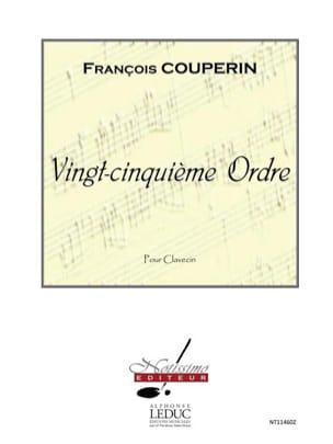 25ème Ordre - François Couperin - Partition - laflutedepan.com