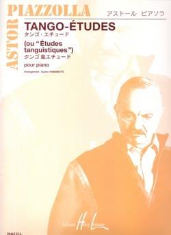 Tango-Etudes Astor Piazzolla Partition Piano - laflutedepan