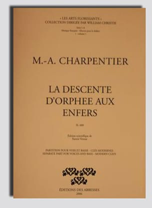 Marc-Antoine Charpentier - Orpheus Descent In The Underworld - Sheet Music - di-arezzo.com
