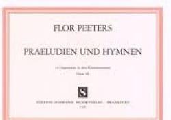 Präludien Und Hymnen Op. 90 - Flor Peeters - laflutedepan.com