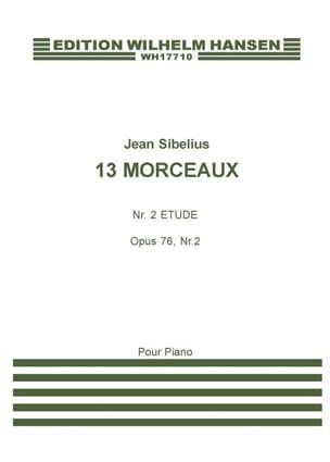 Jean Sibelius - Etude Opus 76-2. - Partition - di-arezzo.fr