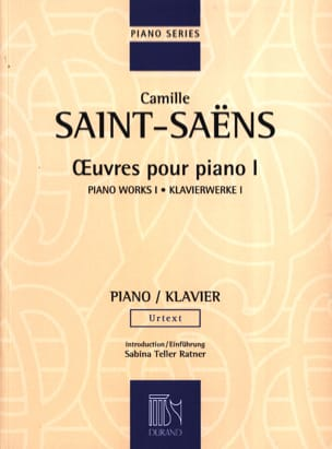 Camille Saint-Saëns - Piano Works Volume 1 - Sheet Music - di-arezzo.co.uk