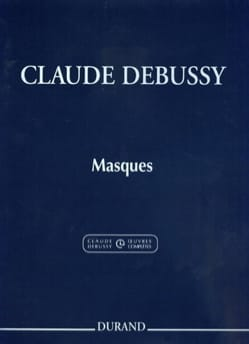 Claude Debussy - Masques - Partition - di-arezzo.fr