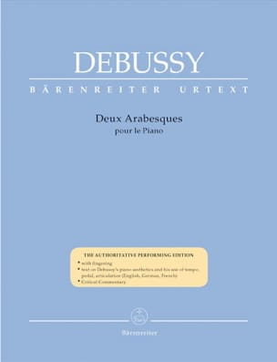 2 Arabesques DEBUSSY Partition Piano - laflutedepan