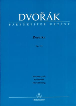DVORAK - Rusalka Opus 114 - Sheet Music - di-arezzo.co.uk
