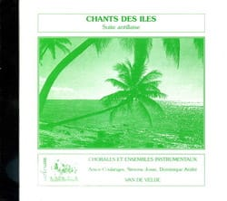 Coulanges / Josse / André - Song of the Islands. CD - Sheet Music - di-arezzo.co.uk