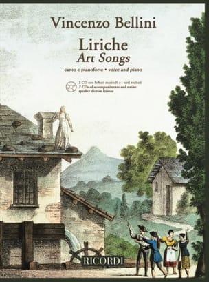 Vincenzo Bellini - Liriche + 2 Cd - Partition - di-arezzo.fr