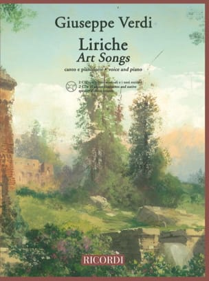 VERDI - Liriche 2 Cd - Sheet Music - di-arezzo.co.uk