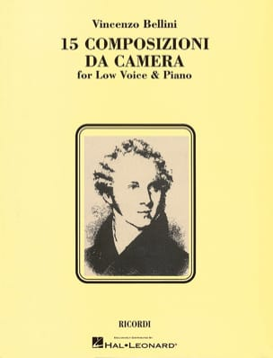 Vincenzo Bellini - 15 Composizioni Da Camera. Deep voice - Sheet Music - di-arezzo.co.uk
