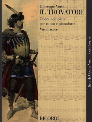 VERDI - Il Trovatore - Sheet Music - di-arezzo.co.uk