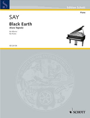 Black Earth Kara Toprak Fazil Say Partition Piano - laflutedepan
