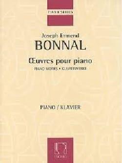 Ermend Bonnal - Oeuvres Pour Piano - Partition - di-arezzo.fr
