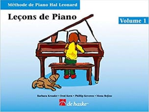 Kreader / Kern Jerome / Keveren / Rejino - Leçons de Piano Volume 1 + CD - Partition - di-arezzo.fr