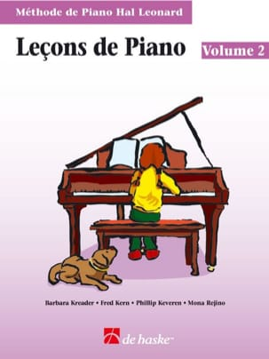Kreader / Kern Jerome / Keveren / Rejino - Leçons de Piano Volume 2 + CD - Partition - di-arezzo.fr