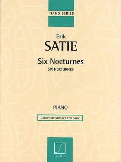 6 Nocturnes Erik Satie Partition Piano - laflutedepan