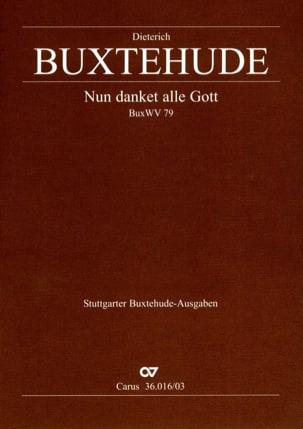 Dietrich Buxtehude - Nun Danket Alle Gott Buxwv 79 - Partition - di-arezzo.fr