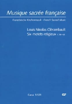 Louis-Nicolas Clérambault - 6 Religious Motets C58-63 - Sheet Music - di-arezzo.co.uk