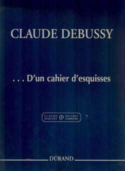 DEBUSSY - ... From a sketchbook - Sheet Music - di-arezzo.com