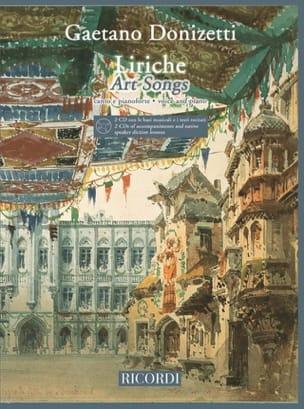 Gaetano Donizetti - Liriche + 2 Cd - Partition - di-arezzo.fr
