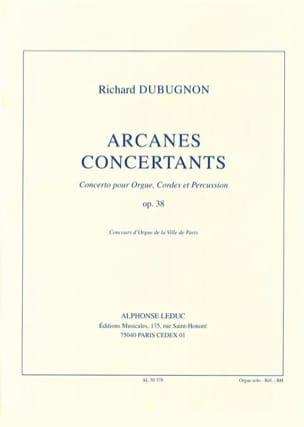 Arcanes Concertants Opus 38. Partie soliste - laflutedepan.com