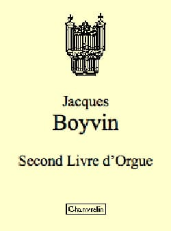 Jacques Boyvin - Second Organ Book Vol 1 - Sheet Music - di-arezzo.com