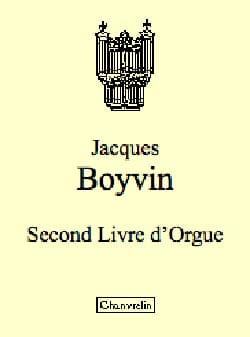 Jacques Boyvin - Second Livre D'orgue Vol 1 - Partition - di-arezzo.fr